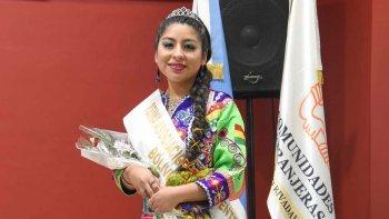 Yessica Schneider Laime, de la Asociación Civil Centro de Residentes Bolivianos.