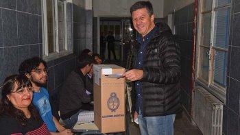 Menna confía en que Cambiemos puede obtener diez puntos más en las elecciones de octubre en Chubut para convertirse en diputado.