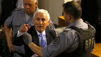 Miguel Etchecolatz, un símbolo siniestro de la represión durante la última dictadura cívico-militar.