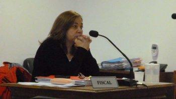 La fiscal Laura Castagno está a cargo de la acusación.
