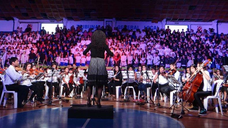 La Orquesta Infanto Juvenil del barrio INTA de Trelew brindará un espectáculo el sábado en el Centro Cultural.