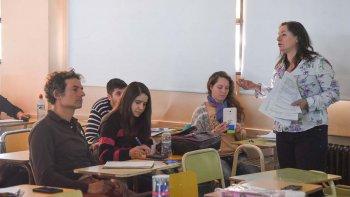 En el aula 11 de la Universidad Nacional de la Patagonia San Juan Bosco se llevó a cabo el Taller de Análisis de Código de Planeamiento para Comodoro Rivadavia.