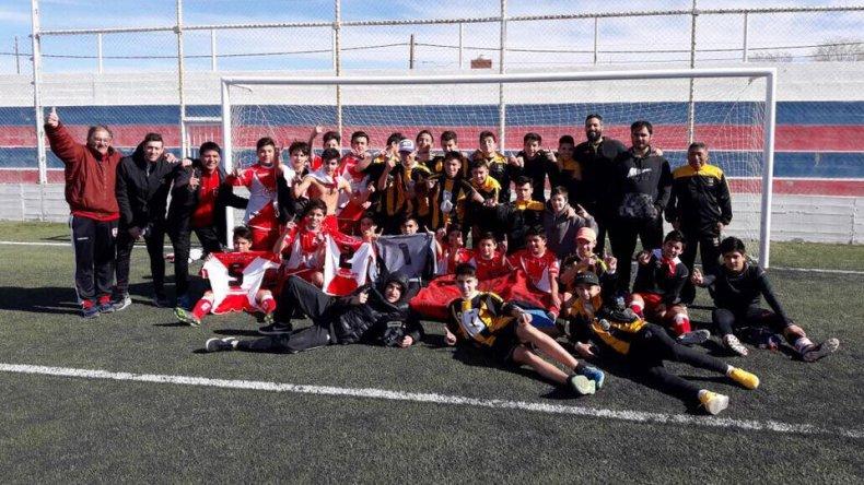 Sarmiento y Rada Tilly campeones provinciales en los Juegos Evita