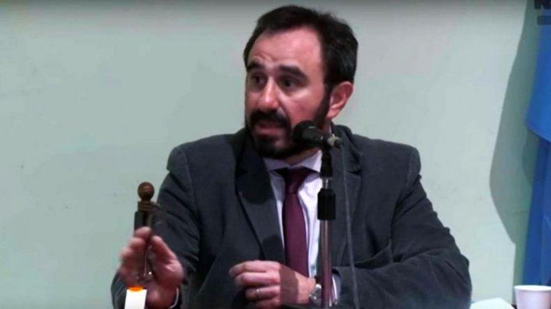 El juez Guido Otranto podría ascender a camarista e irse a Río Negro