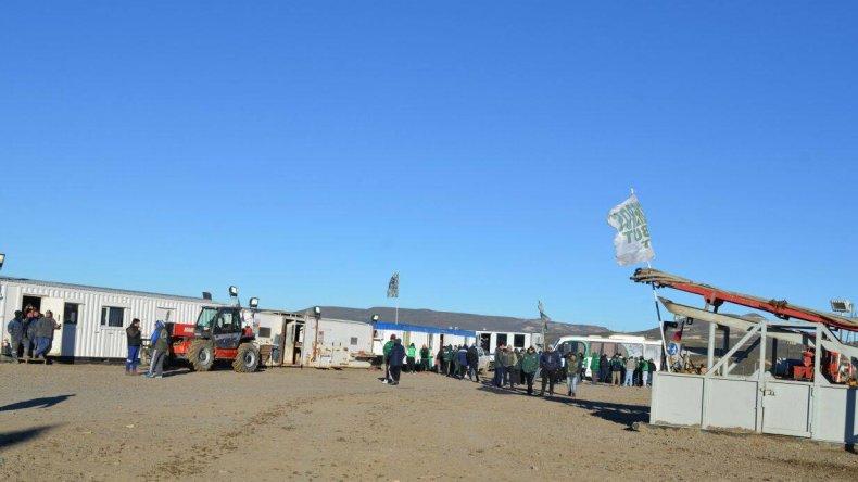 Fotos: Sindicato Camioneros de Chubut