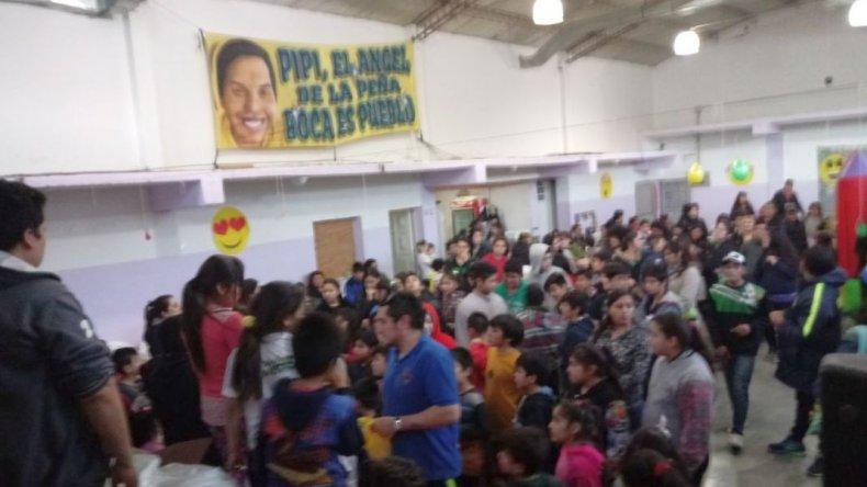 Unos 180 niños festejaron su día en Laprida