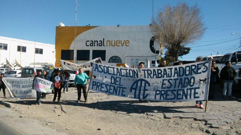 Foto y videos: Martín Pérez/El Patagónico
