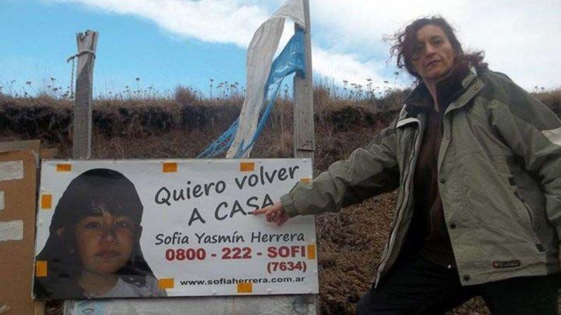 Declaran inimputable a la supuesta vidente del caso de Sofía Herrera