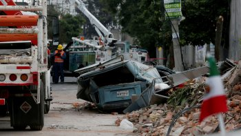 El suroeste de México es la zona más afectada por el potente sismo.
