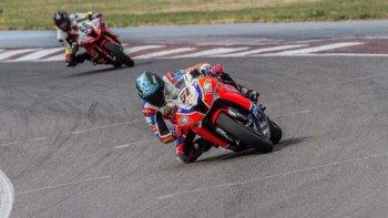 Federico Zapata redondeó un buen fin de semana al subir al podio en la segunda final.