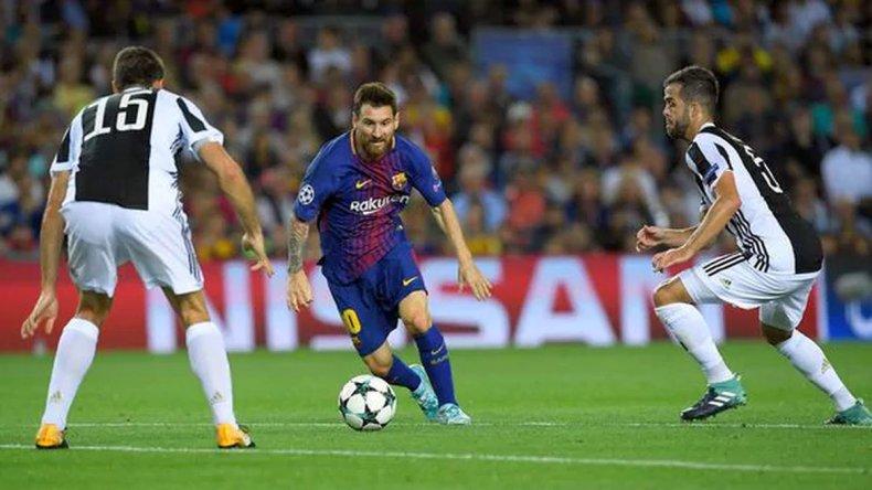 Con Messi como figura principal el Barcelona derrotó a Juventus
