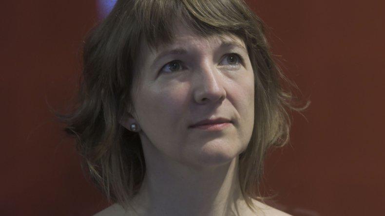 La socióloga Laura Fernández Cordero es la autora del libro.