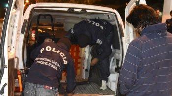 El 7 de abril de 2016 Héctor Martín Fretes fue detenido movilizándose en la misma Peugeot Partner blanca secuestrada hace ocho días.
