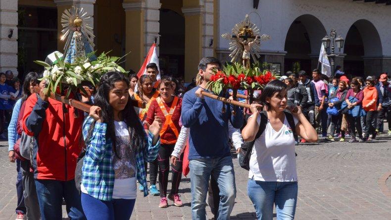 En Comodoro Rivadavia se replicará esta tarde una tradición característica de Salta.
