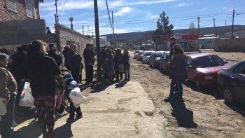 piden donaciones para vecinos del barrio juan xxiii