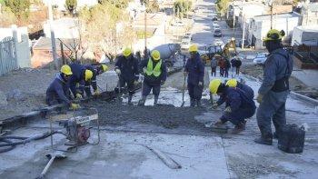 El viernes se licitará una obra de pavimento y muros para las calles Carabelas y La Pinta.