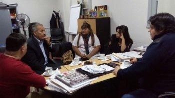 carrizo se reunio con el ministro de salud ignacio hernandez
