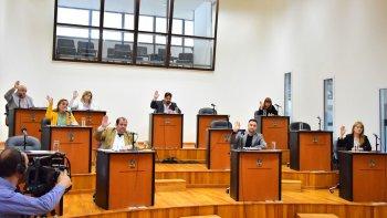 En sesión especial, los concejales avalaron el convenio con Nación que permitirá licitar obras de pavimentación en sectores afectados por el temporal.