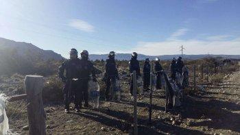 Nuevamente el juez federal Guido Otranto ordenó allanar el Pu Lof Mapuche en Cushamen. Para la familia de Maldonado el operativo fue un atropello.