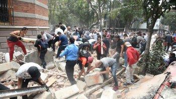 asi se vivio el terremoto en mexico, imagenes impactantes