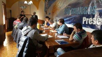 continua la capacitacion a delegados en rio gallegos