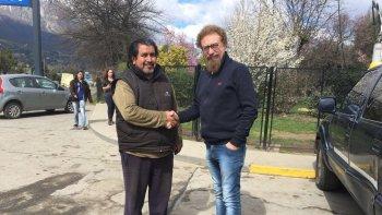 luenzo se reunio con referentes mapuches