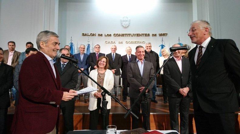 Jerónimo García ya es jefe de ministros. La idea no es gritar, sino que te entiendan hablando y dialogando, dijo.