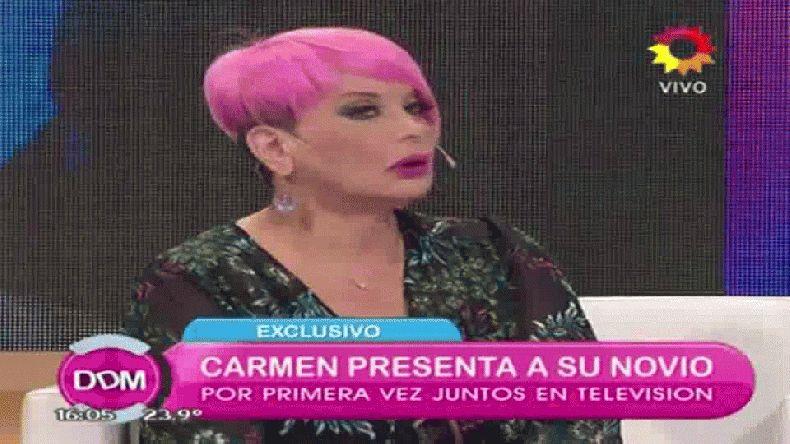 Carmen Barbieri presentó a su novio de Comodoro