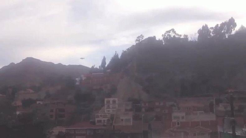 Aseguran que un ovni sobrevoló las montañas de Bolivia