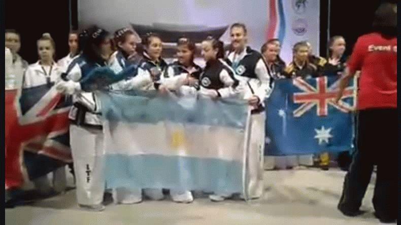 Tres oros, una plata y una de bronce fue el medallero que consiguió Leila Ramos