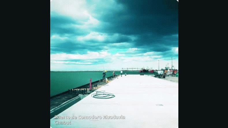 Las obras en el  Puerto continúan avanzando