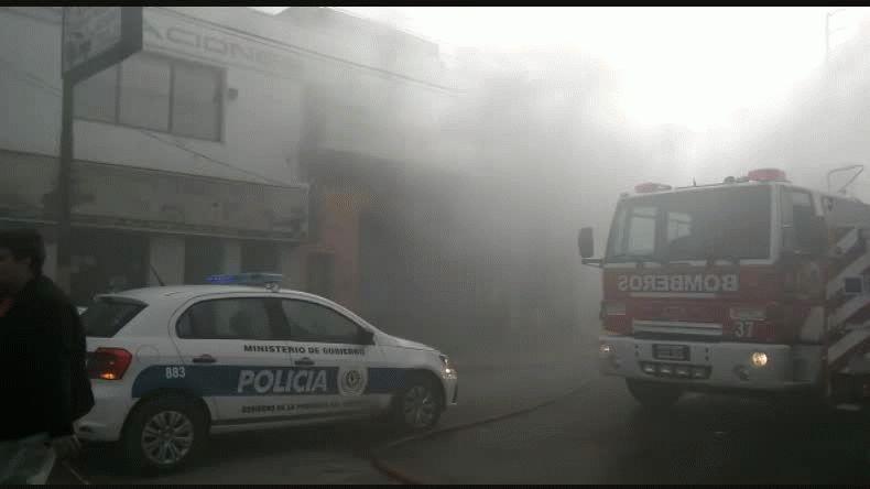 Pérdidas totales en incendio en una vivienda del barrio La Loma